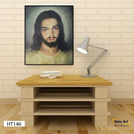 Tranh sơn dầu chân dung chúa Giê-su