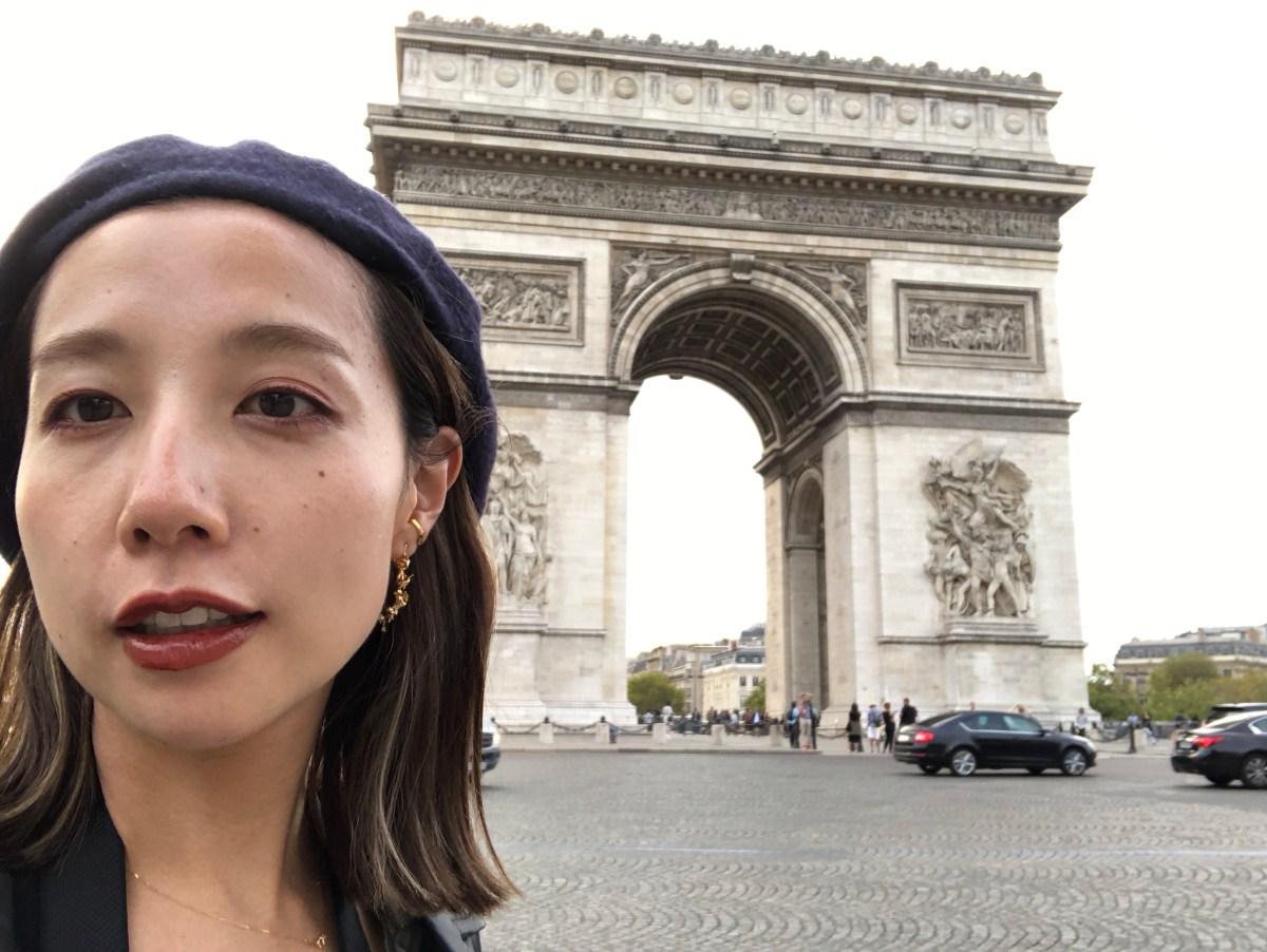 エロ髪さとみのparis旅行記【マレ地区散策〜凱旋門】