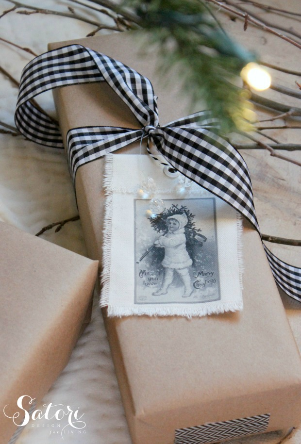 Easy Gift Wrapping Ideas With Kraft Paper