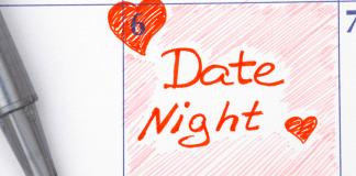date night on calendar