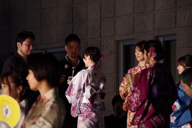 準ミスしづはた姫の表彰式