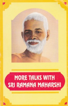More Talks with Sri Ramana Maharshi