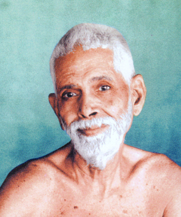 ramana picture blue background small cropped