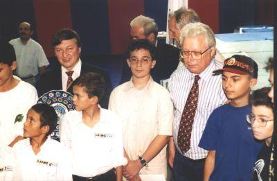 Özgür Akman Çocuk Satranç Olimpiyatı