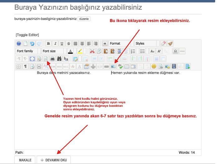 blog editoru