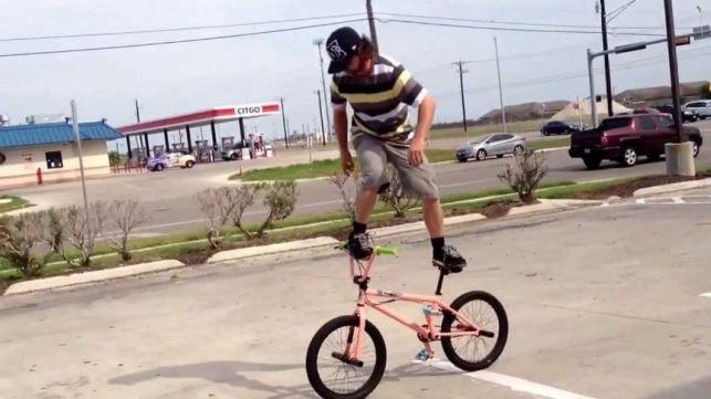 trik bmx bars ride