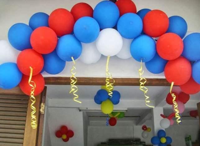 hiasan balon ulang tahun