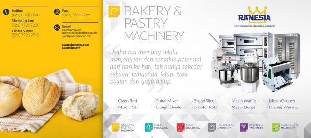 mesin roti ramesia