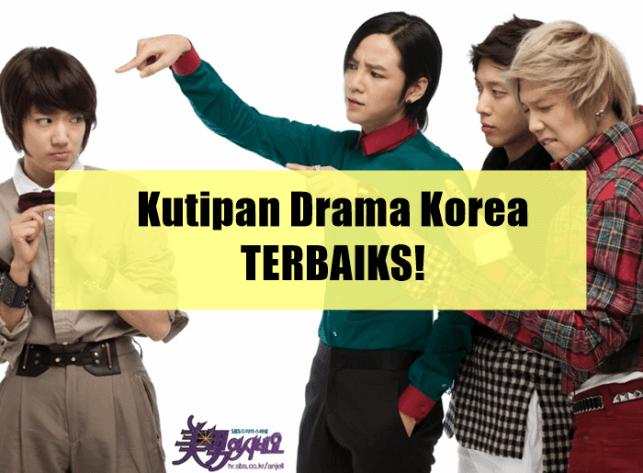 kutipan drama korea terbaru