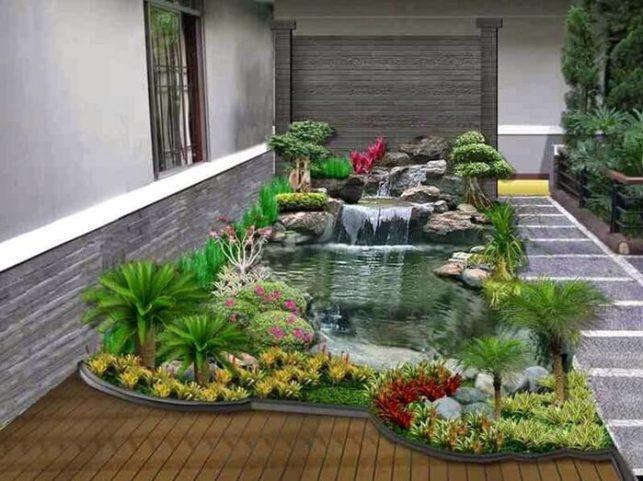 kolam ikan unik