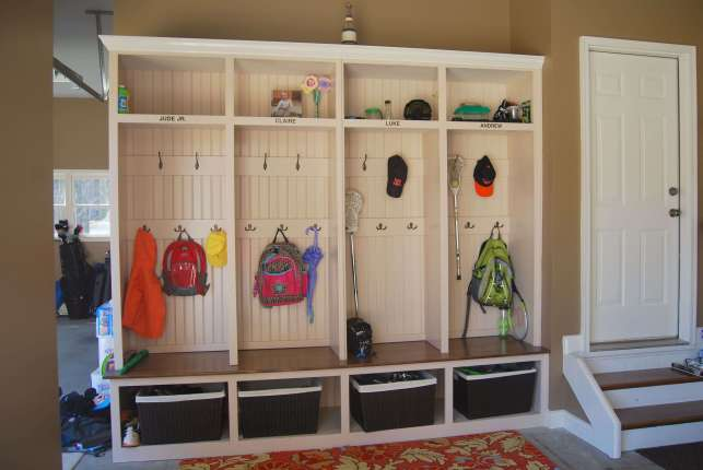 A Mud Room for Garage Storage Ideas - pinterestcom