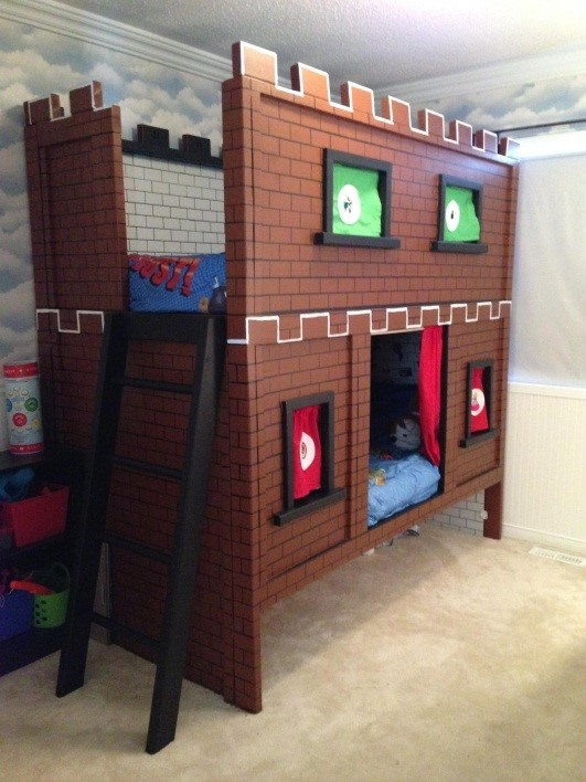 Bunk Bed for Kids Ideas as Boys' Fortress - buythebutchercovercom