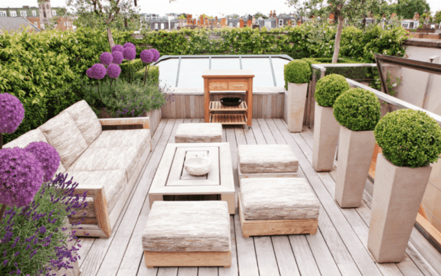 Cozy Backyard Deck Ideas with Surrounded by Greenery - studiofmpcom