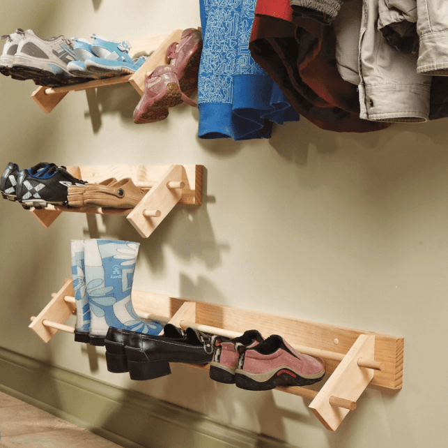 Easy Organizer for Shoes - familyhandymancom