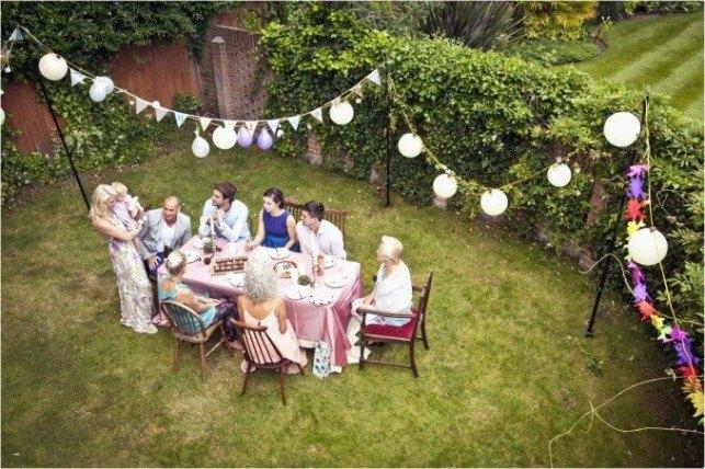 Elegant Outdoor Birthday Decoration Ideas - birthdaypartyideasscom
