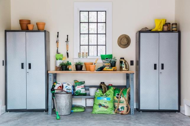 Garage Storage Ideas for Garden Project - pinterestcom