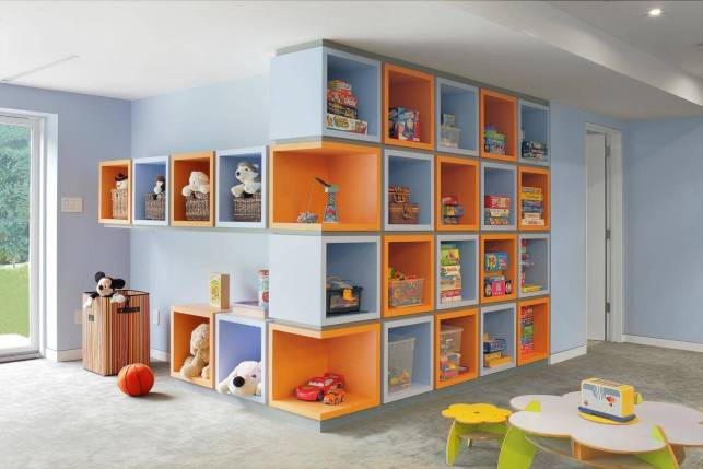 Playroom Storage Ideas - hgtvcom