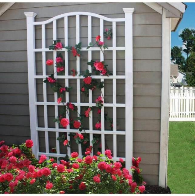 Trellis Flower Garden - verticalgardenproscom
