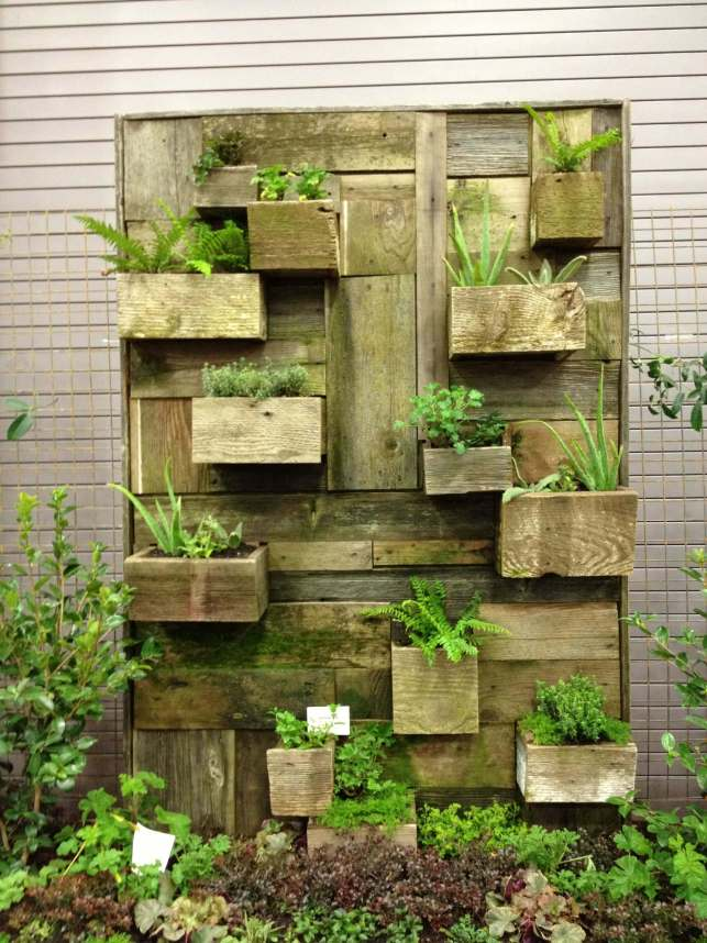 Wooden Planter Boxes - pinterestcom