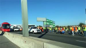 Eight SANRAL workers arrested after protest action