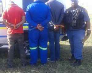 Truck hijacking and diesel theft suspects arrested at Heidelberg