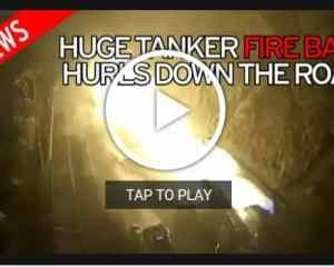Watch! Tanker spirals out of control, explodes, crashes into 14 cars killing 6