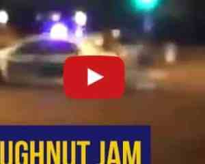 Watch: Durban Metro cop caught 'doing doughnuts' on the job