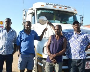 Crossborder truck drivers plead for better trucker facilities in Namibia