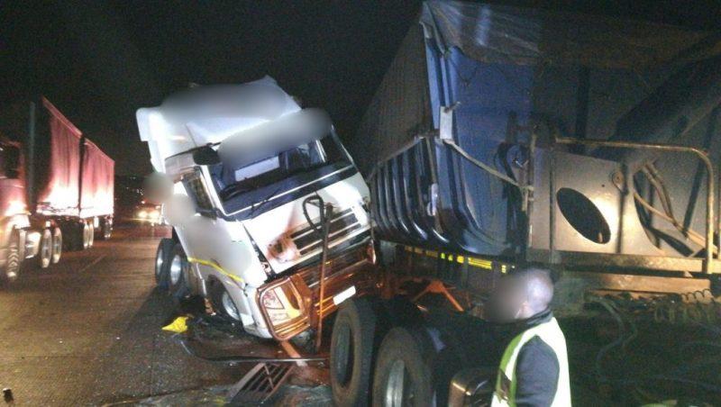 truck crash on n3 near lion park