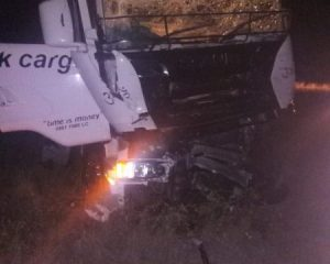 Driver disappears as bales of dagga are found on crash scene