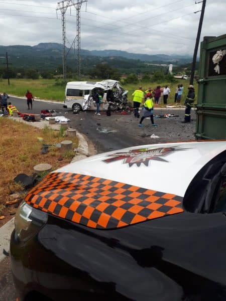 7 people killed in Mpumalanga crash