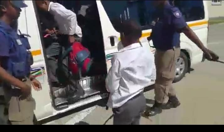WATCH | Taxi caught with 48 people aboard