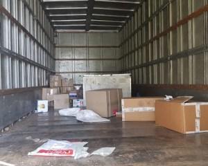 ram truck hijacked on n2