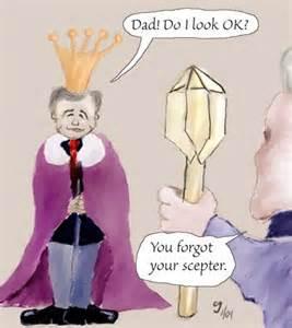 Geo W Bush cartoon