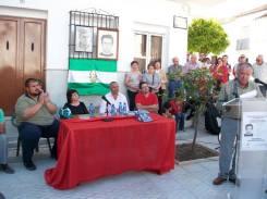 Benito Rodríguez, sindicalista y compañero de Juan Heredia le dedica unas palabras