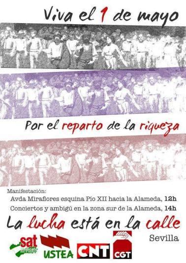 2015-05-01 1º de Mayo Sevilla (cartel)