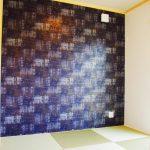 設計・デザインをしたまつげエクステサロン付きかわいい注文住宅の和室
