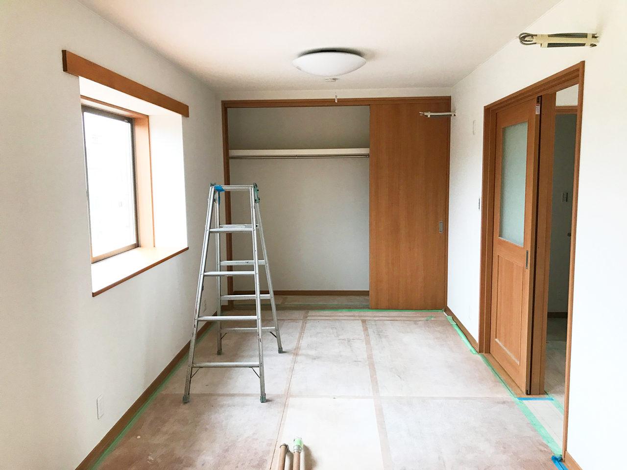 設計・デザインをした店舗(鍼灸接骨院)付き住宅の子供部屋