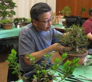 Darren Wong at work