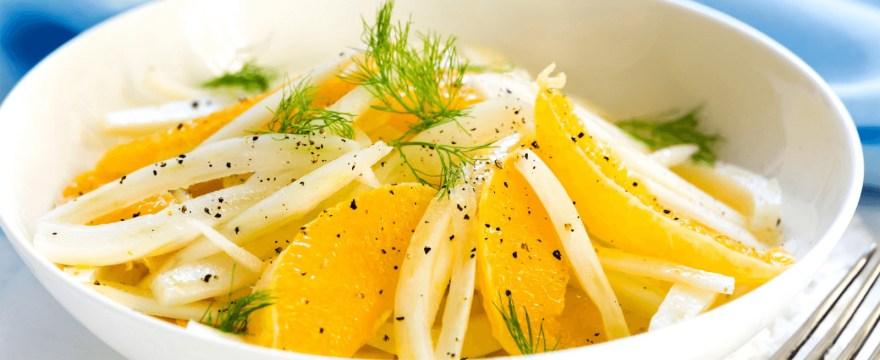 Fenchelsalat mit Orangen Rezept vegan