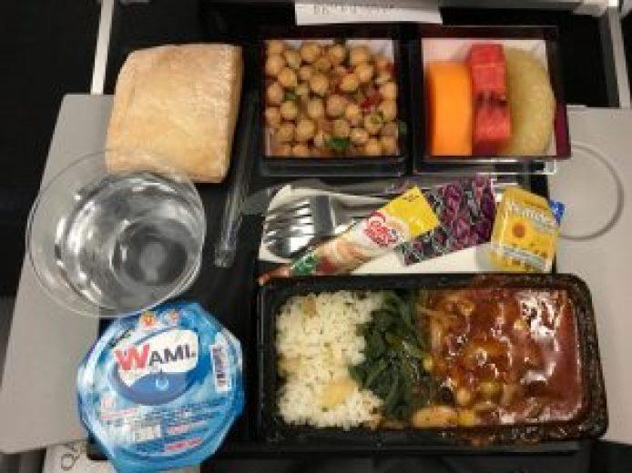Veganes Essen Qatar Airways