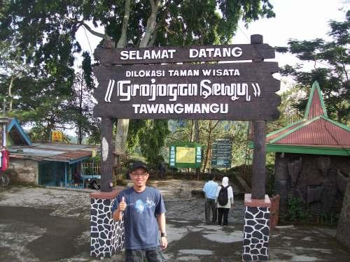 pintu masuk Grojogan Sewu