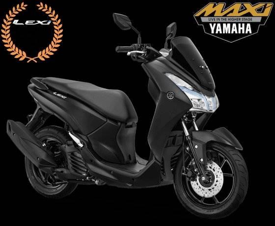 Yamaha Lexi 125 Hitam Doff