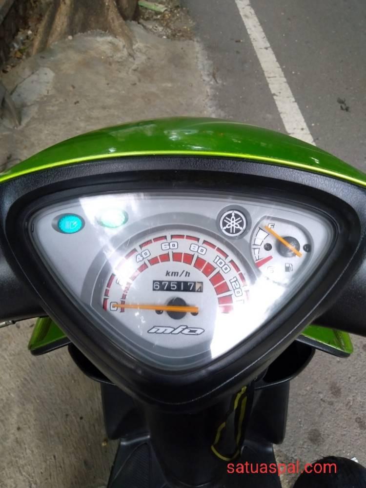 1 Liter Bensin Berapa Km Motor : liter, bensin, berapa, motor, Konsumsi, Yamaha, Sporty, Karburator, Tembus, Km/liter, Satuaspal.com
