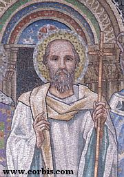 John Chrysostom, from the Apse Mosaic of San Paolo fuori le Mura, by Edward Burne-Jones