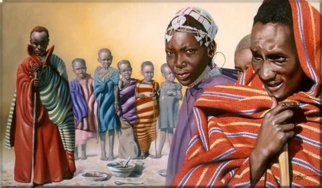 10 wajah orang afrika