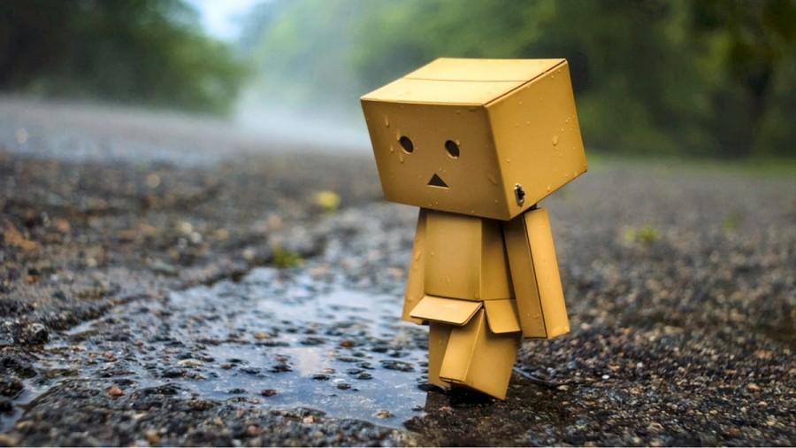 Danbo sedih