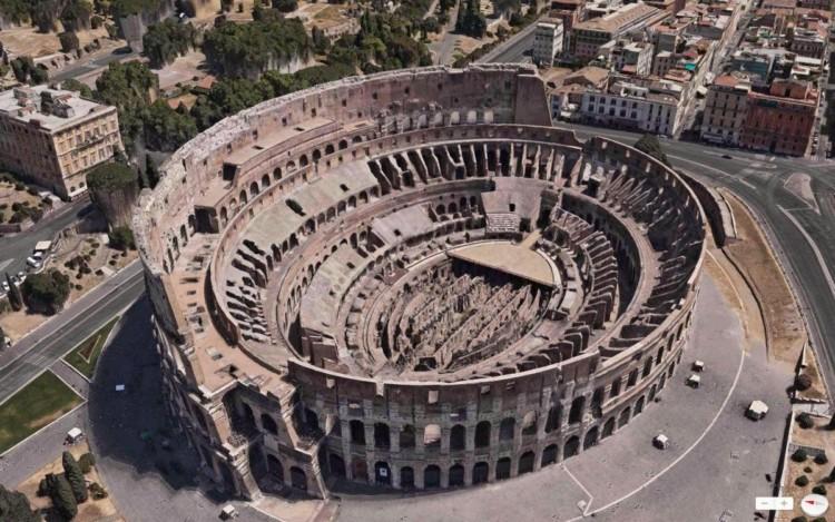 peninggalan sejarah romawi kuno