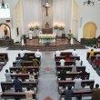 Suasana Perayaan Misa Natal Di Gereja Paroki Keluarga Kudus Ps. Minggu
