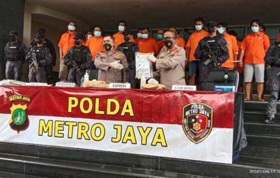 Polda Metro Jaya Ungkap Premanisme di Pelabuhan Tanjung Priok